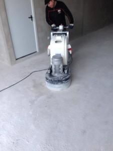 pulido de Hormigón  garaje