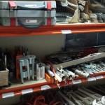 Batidores, rotores, lanzas de proyección, rascadores