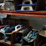 Frotax de profino, Frotax progrueso, llanas, espátulas y pequeña herramienta