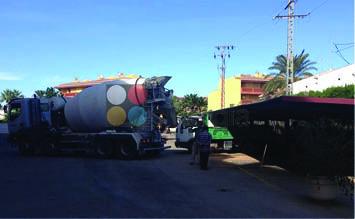 Asfalto para parking en urbanización de denia4