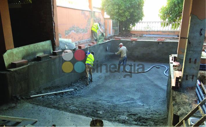 Especialistas en gunitado de piscinas y hormigón proyectado con mejor precio de Valencia
