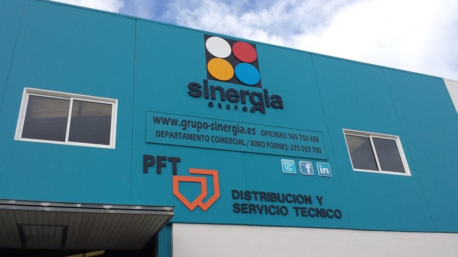 Fachada Empresa Grupo Sinergia