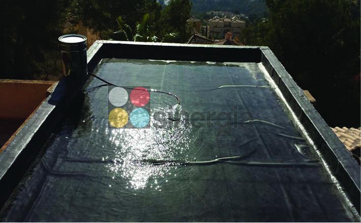 Impermeabilización EPDM para cubierta en chalet gandia3