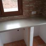 Microcemento en la cocina Xalo - Alicante