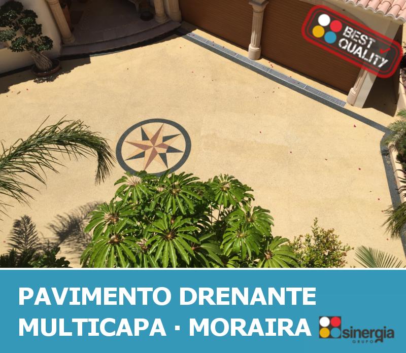 Pavimento drenante decorativo en Moraira