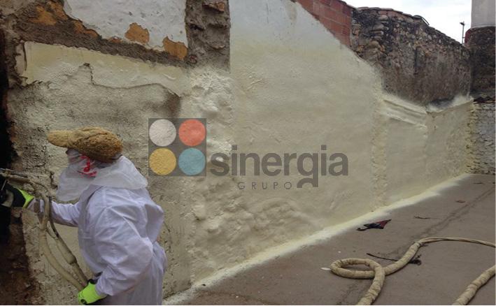 Poliuretano para fachadas o paredes la nucia