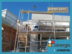 Mortero Blanco para fachadas en Moraira